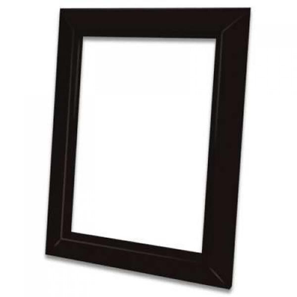 Декоративная рамка Деко черная для пневморозетки