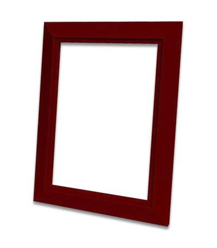 Декоративная рамка Деко (красная)