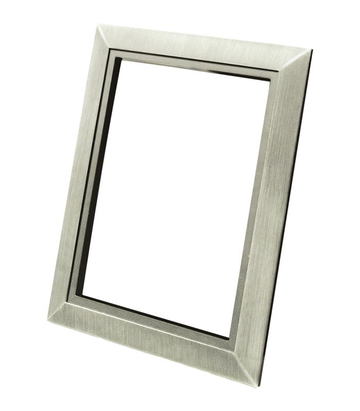 Декоративная рамка Деко (нержавеющая сталь)