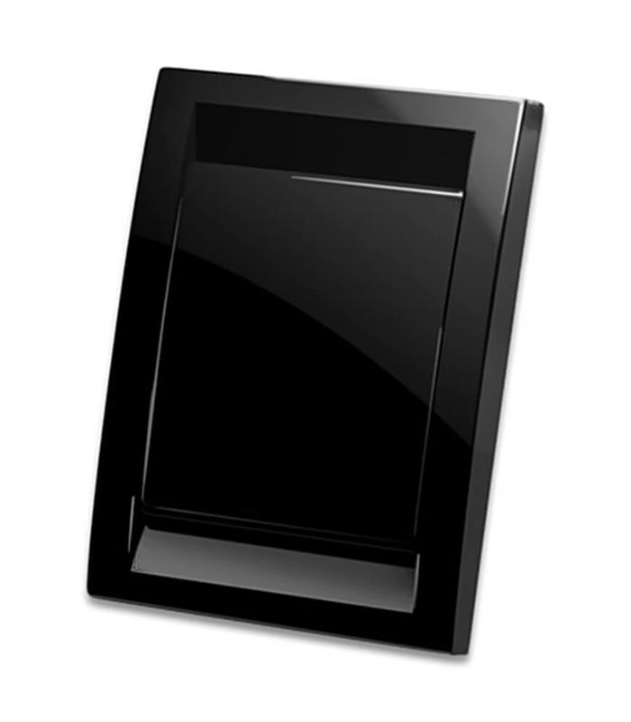 Евророзетка Деко (черная)