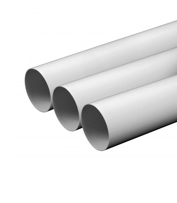 Труба ПВХ Польша (диаметр 50,8 мм) белая (2 м-1 шт)