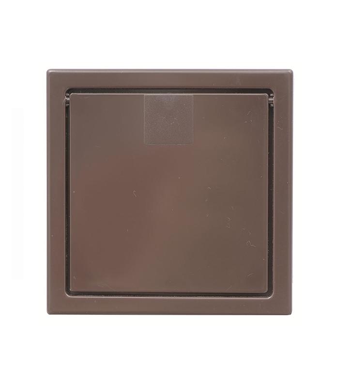 Выхлопной клапан (темно-коричневый)